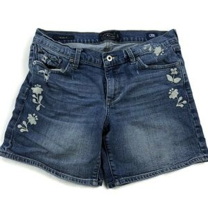 Lucky Brand The Rollup Denim Jean Shorts